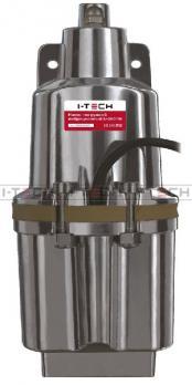 Насос погружной вибрационный I-TECH U-180/25 mini верхний забор, 180 Вт, провод 25м