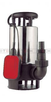 Насос погружной дренажный I-TECH SDP-1000, для грязной воды до 35мм, 15500л/ч, сталь