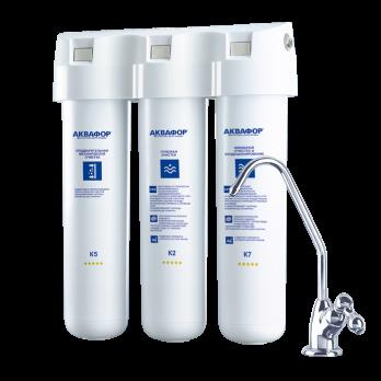 Фильтр для очистки воды Аквафор Кристалл АН для жесткой воды