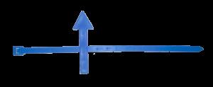 Указатель направления потока (Хомут со стрелкой)