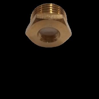 "Переходник кран-подводка 1/4""в.р. х1/2""н.р."