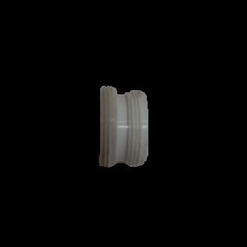 Муфта переходная на резьбу 22 24 пластик